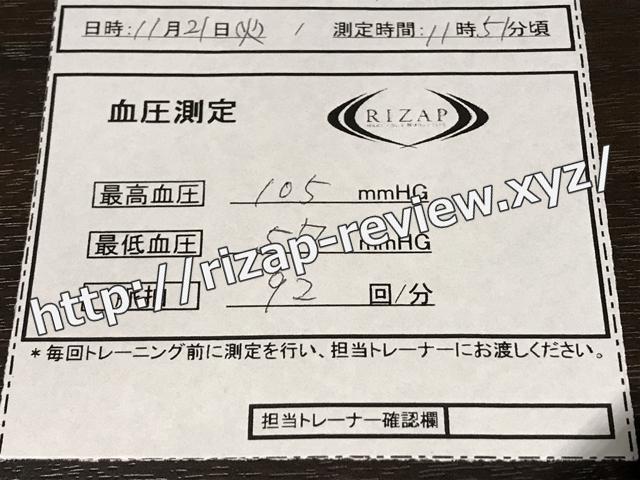 2017.11.21(火)血圧