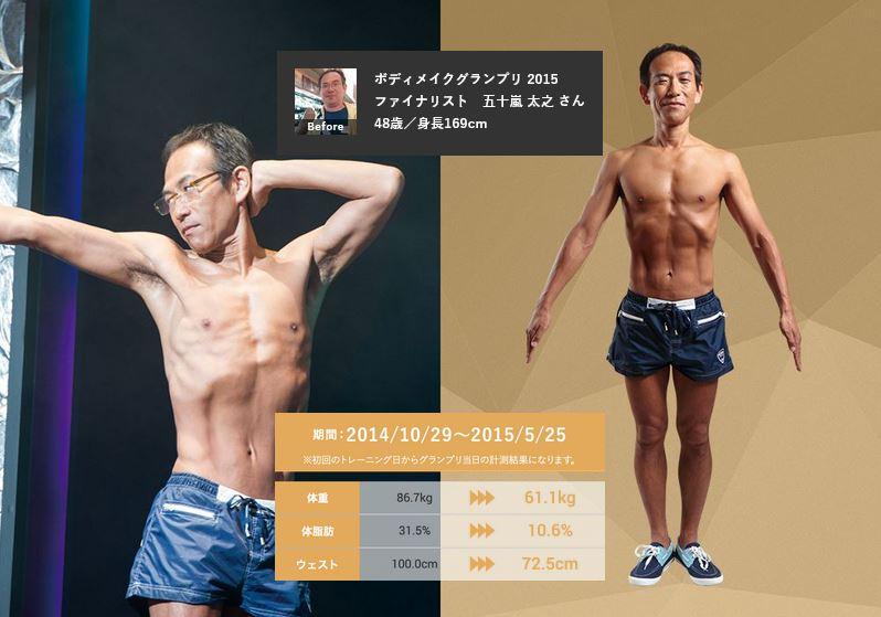 五十嵐太之さん・48歳・ライザップの口コミ・評判