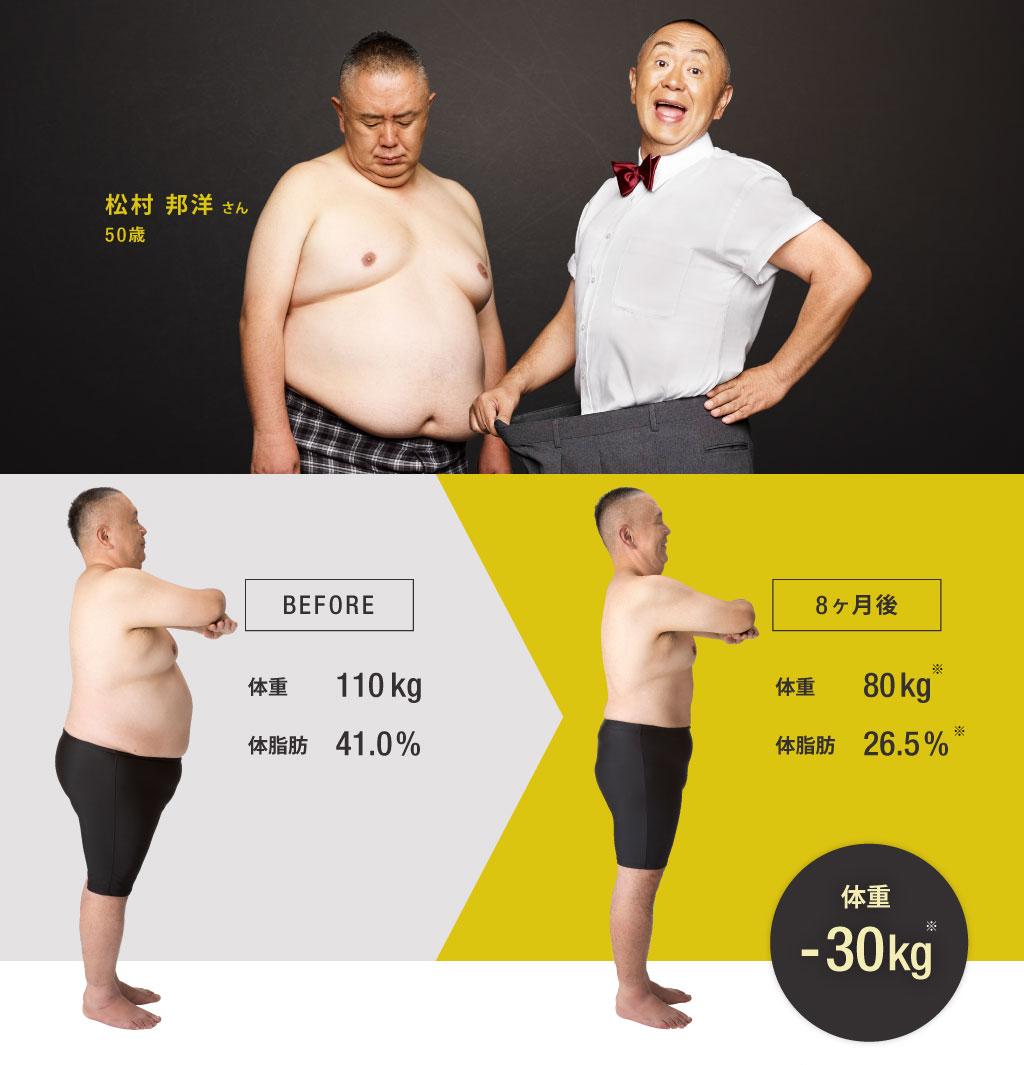 松村邦洋さん・50歳
