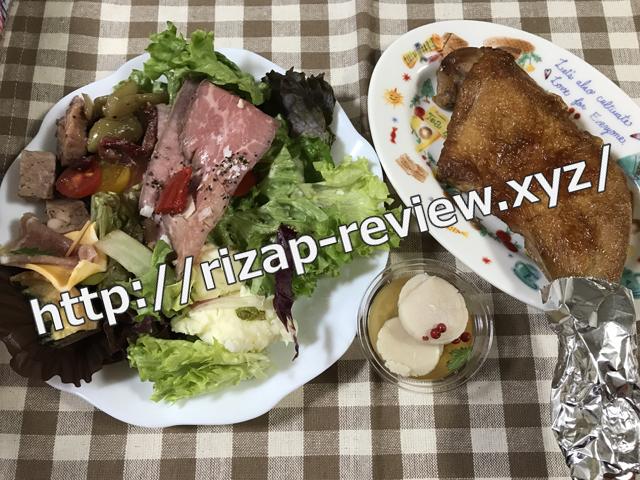 2017.12.24(日)の昼食