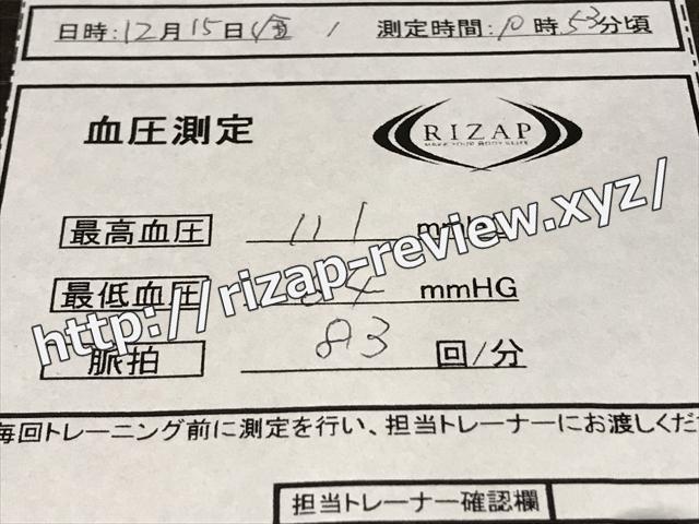 2017.12.15(金)の血圧