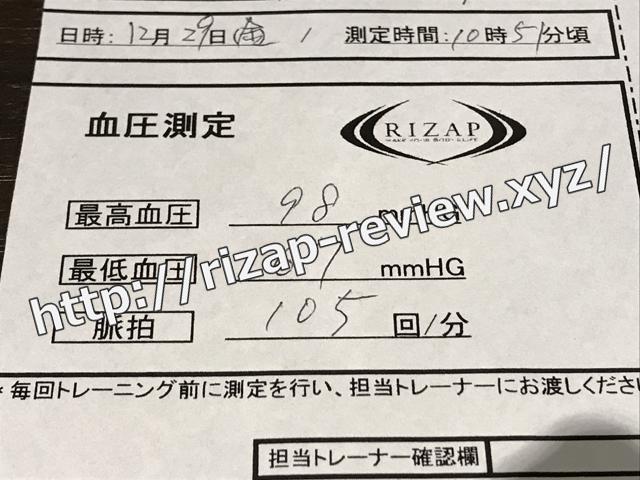 2017.12.29(金)の血圧