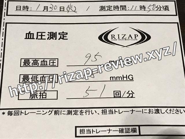 2018.1.30(火)第38回目の血圧