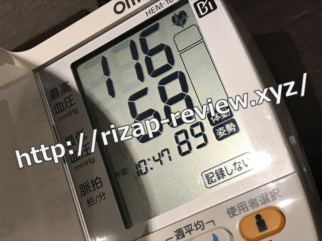 2018.2.2(金)の血圧