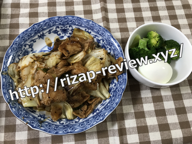 2018.4.19(木)の昼食