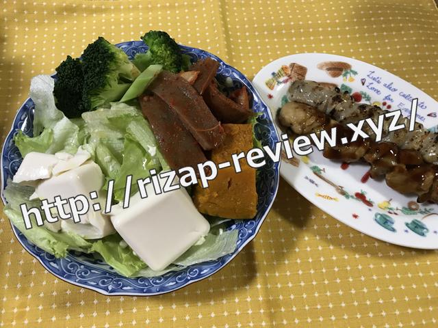 2018.4.22(日)の夕食