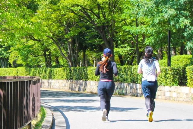 ポイント4・少しでいいので有酸素運動(例えば歩く)時間を増やしましょう!