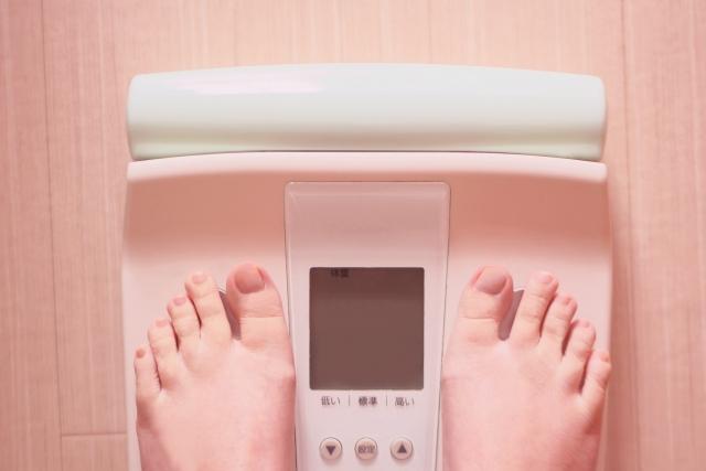 ポイント1・1日2回体重を量りましょう!