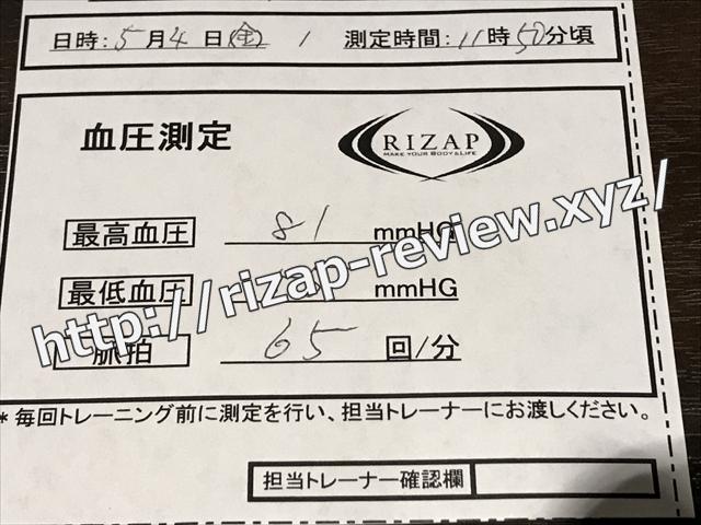 2018.5.4(金)の血圧