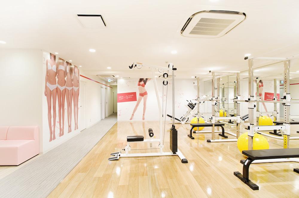 リボーンマイセルフ池袋店・トレーニングルーム