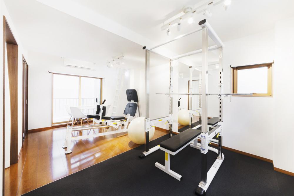 リボーンマイセルフ郡山店・トレーニングルーム