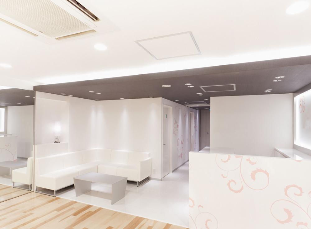 リボーンマイセルフ渋谷店・フロント・ウェイティング