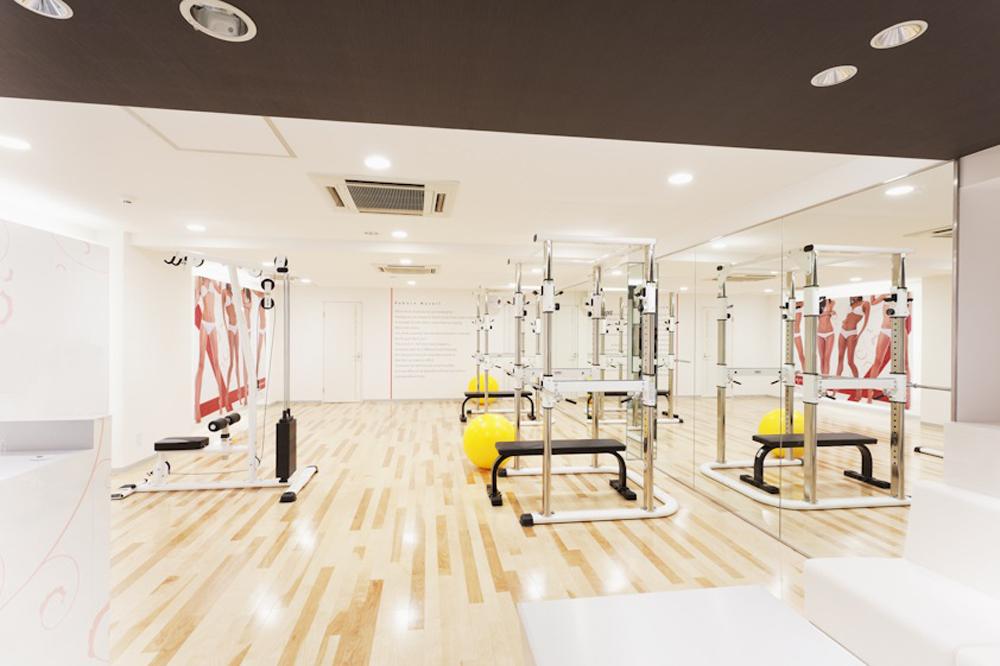 リボーンマイセルフ渋谷店・トレーニングルーム