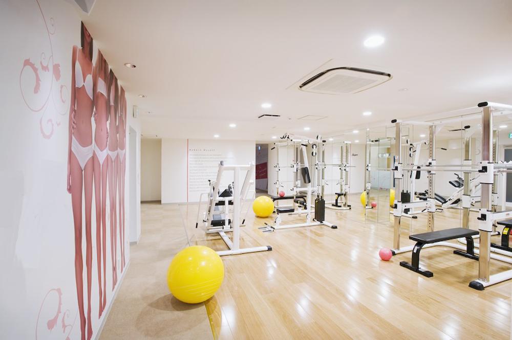 リボーンマイセルフ新宿店・トレーニングルーム