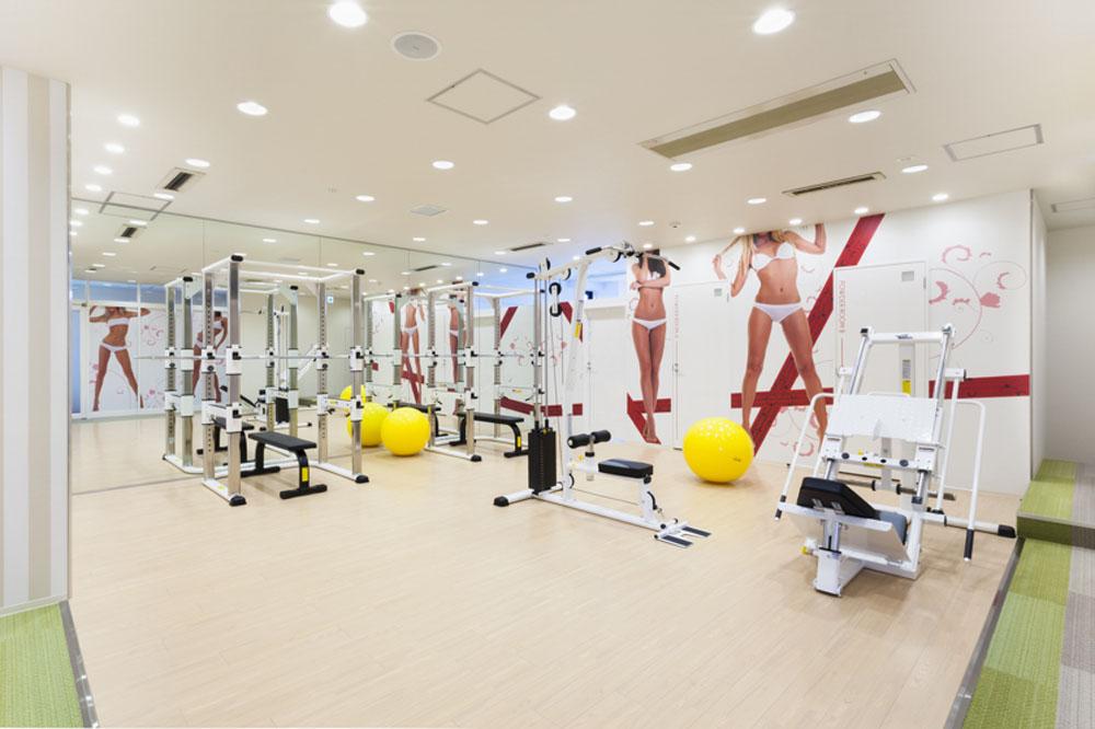 リボーンマイセルフ天王寺店・トレーニングルーム