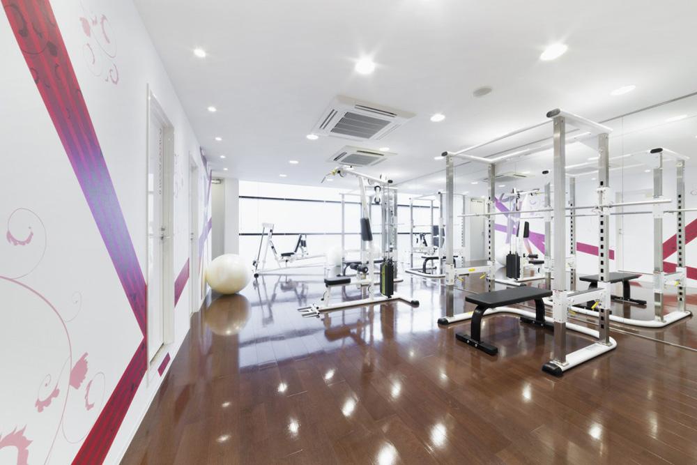 リボーンマイセルフ東京店・トレーニングルーム