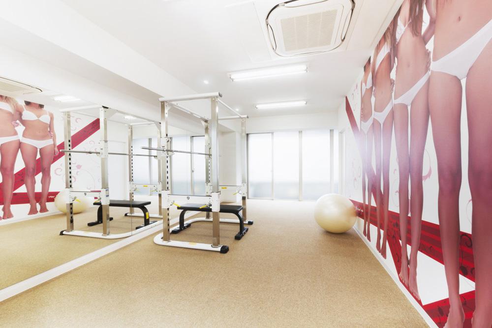リボーンマイセルフ豊洲店・トレーニングルーム
