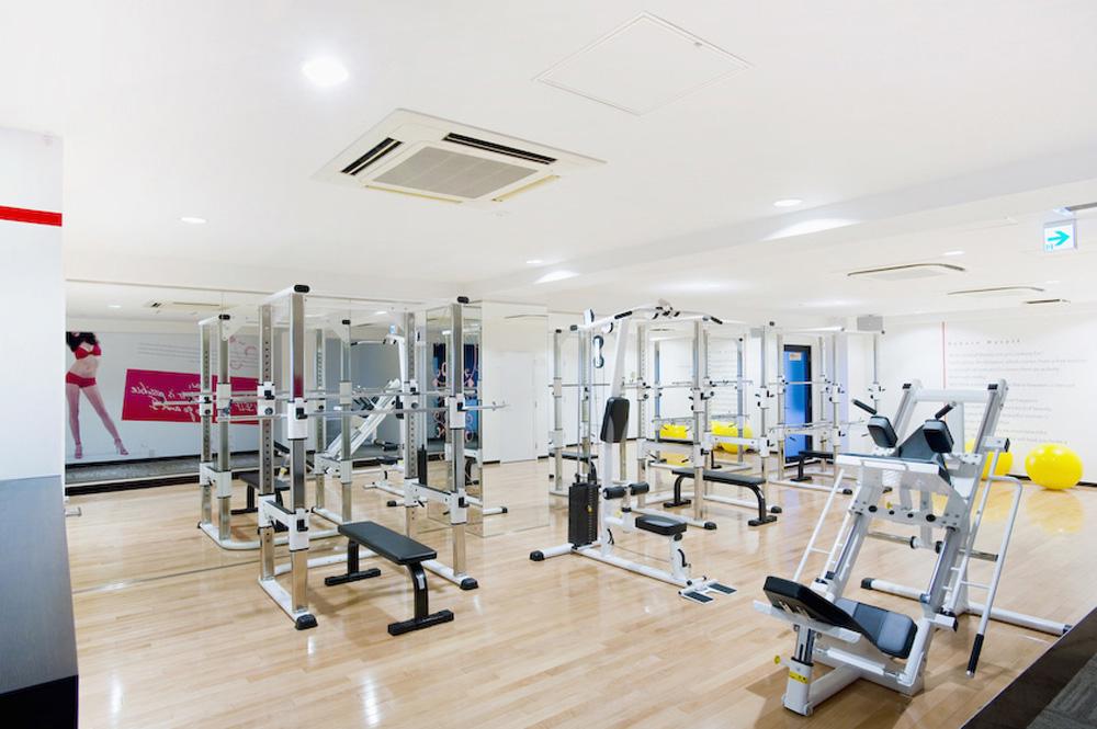 リボーンマイセルフ横浜店・トレーニングルーム
