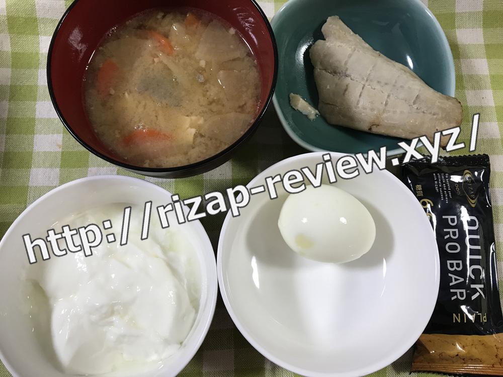 2018.8.29(水)ライザップ流の昼食