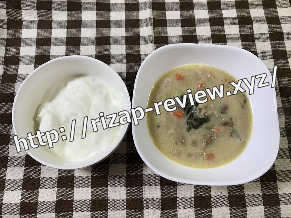 2018.8.31(金)ライザップ流の夕食