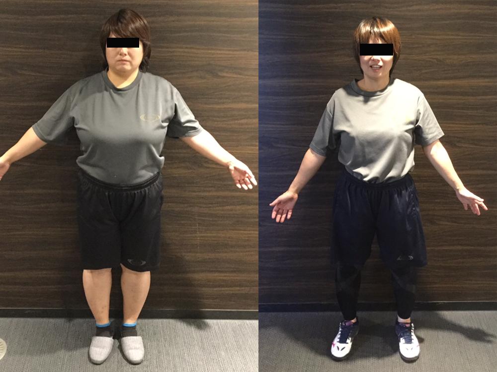 ライザップ女性体験談【minazouさん40歳】の結果は?