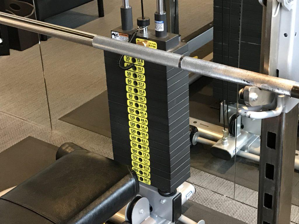 ライザップ柏店にて第93回目トレーニング終了・2018.8.7