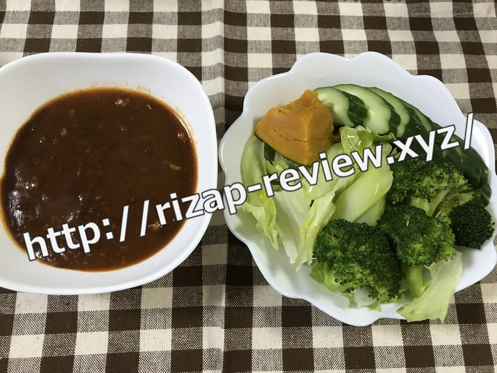 2018.9.21(金)ライザップ流の昼食