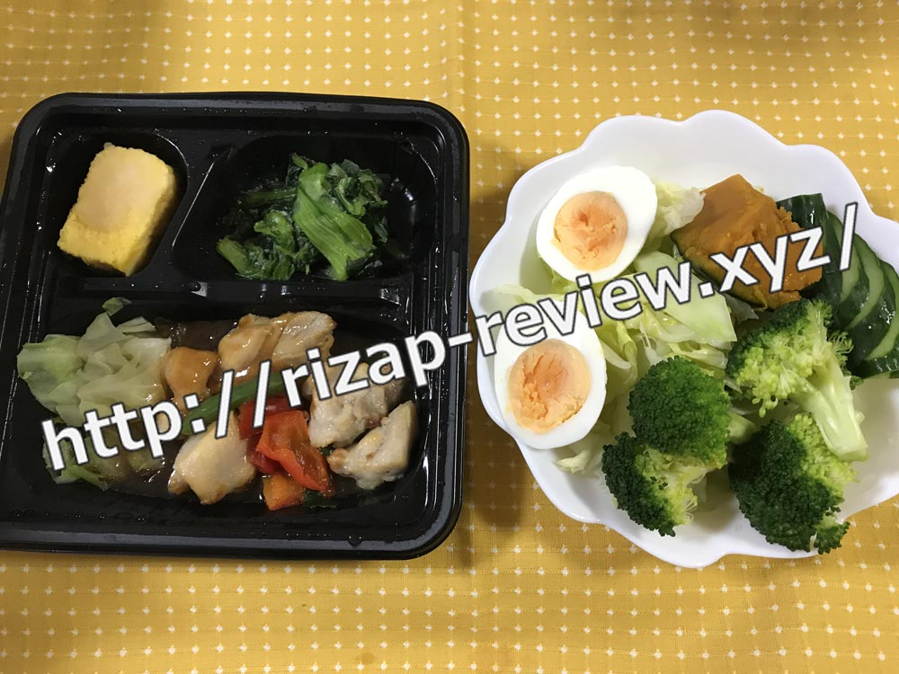 2018.9.26(水)ライザップ流の昼食