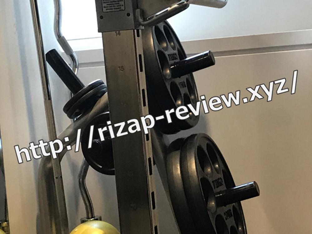 ライザップ柏店にて第109回目トレーニング終了・2018.9.14