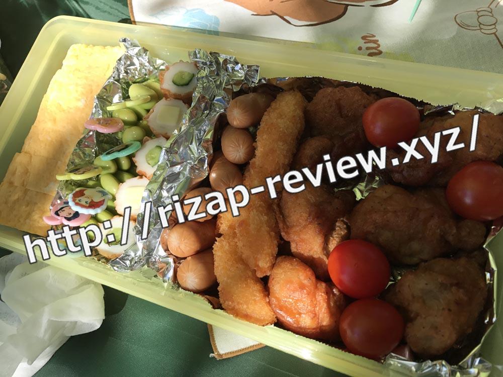 2018.10.6(土)ライザップ流の昼食