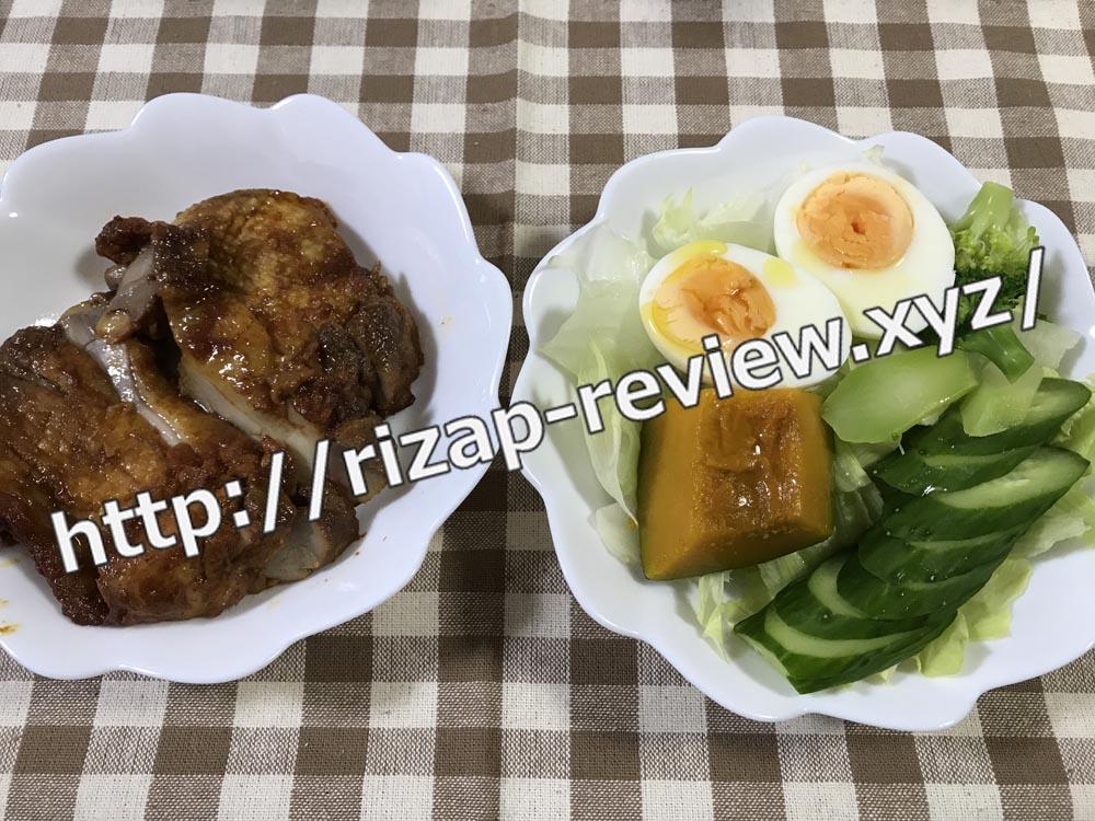 2018.10.12(金)ライザップ流の昼食