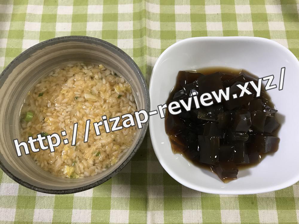 2018.10.13(土)ライザップ流の夕食