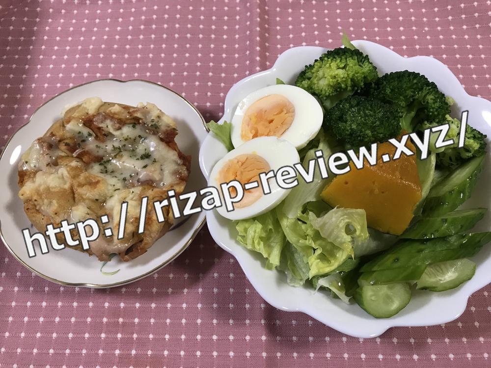 2018.10.15(月)ライザップ流の昼食