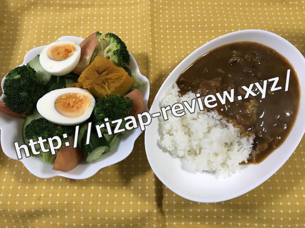 2018.10.24(水)ライザップ流の昼食