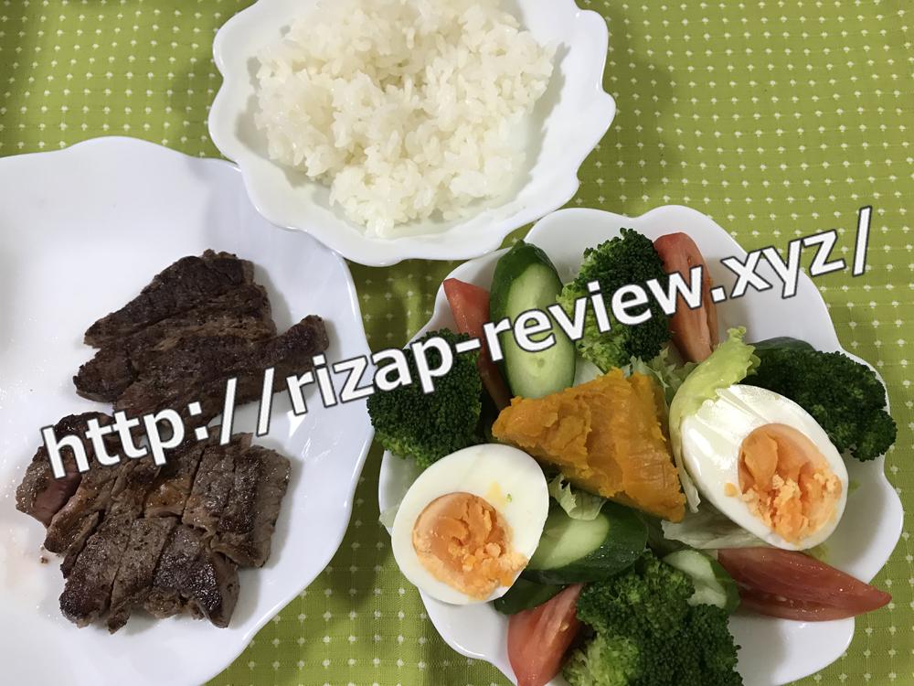 2018.10.27(土)ライザップ流の昼食
