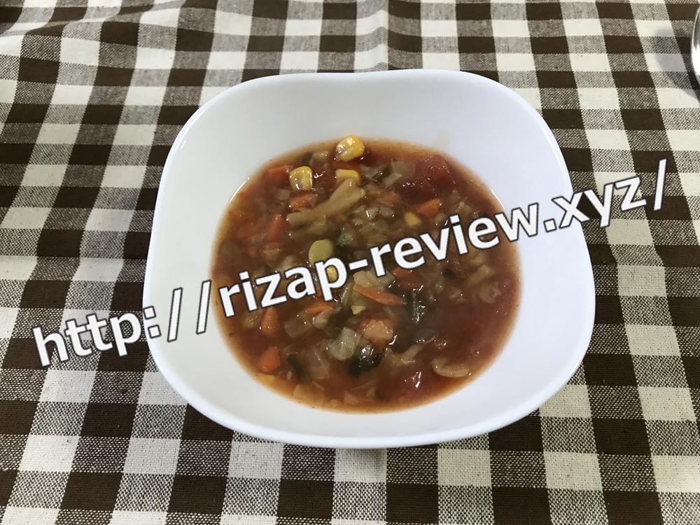 2018.10.28(日)ライザップ流の夕食