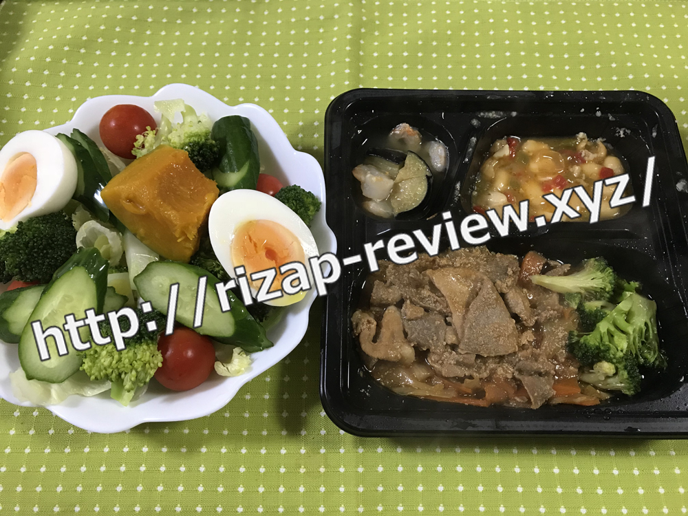 2018.10.30(火)ライザップ流の昼食