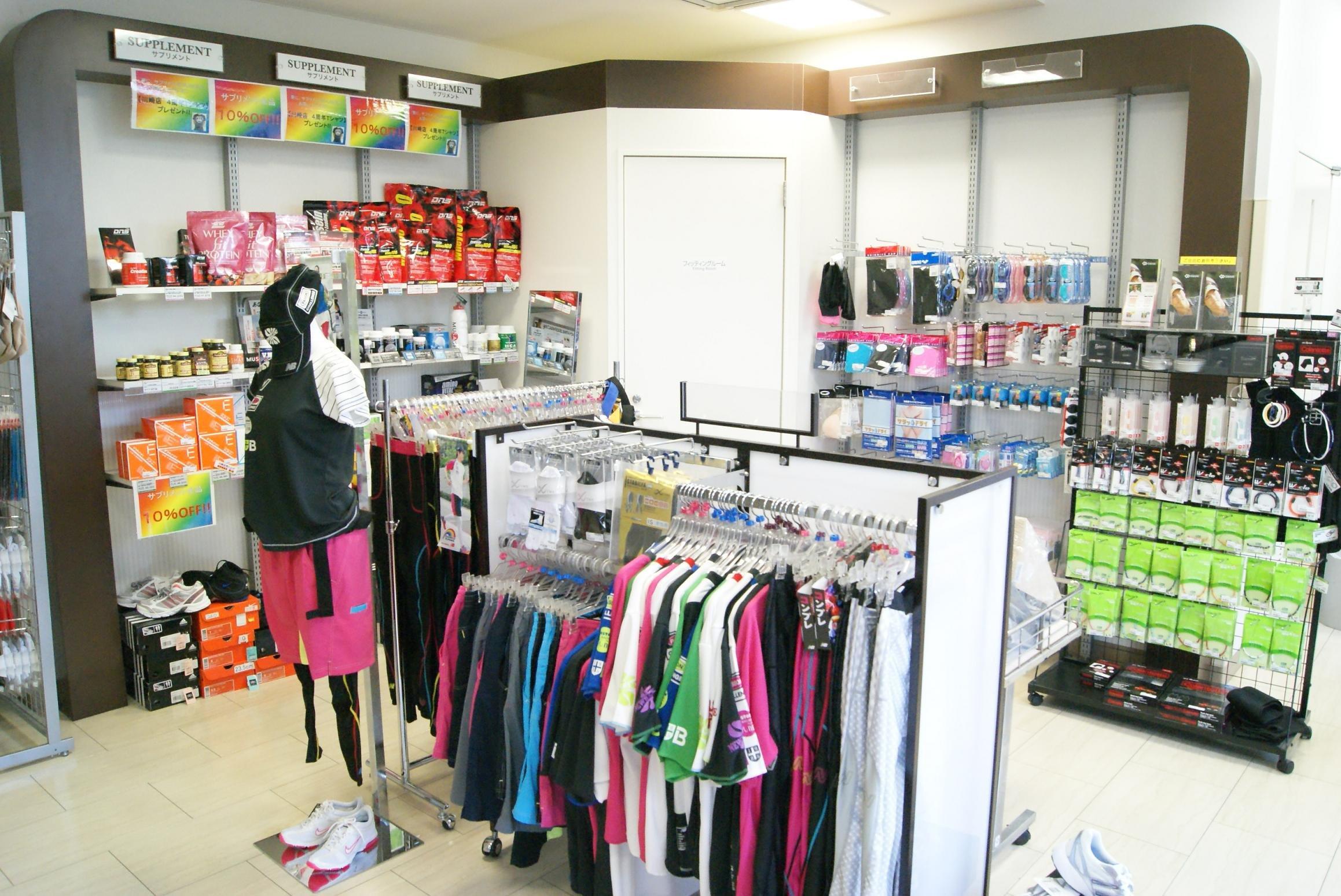 ティップネス川崎店の施設