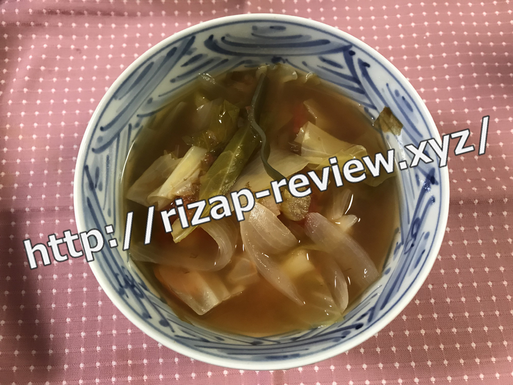 2018.11.8(木)ライザップ流の夕食