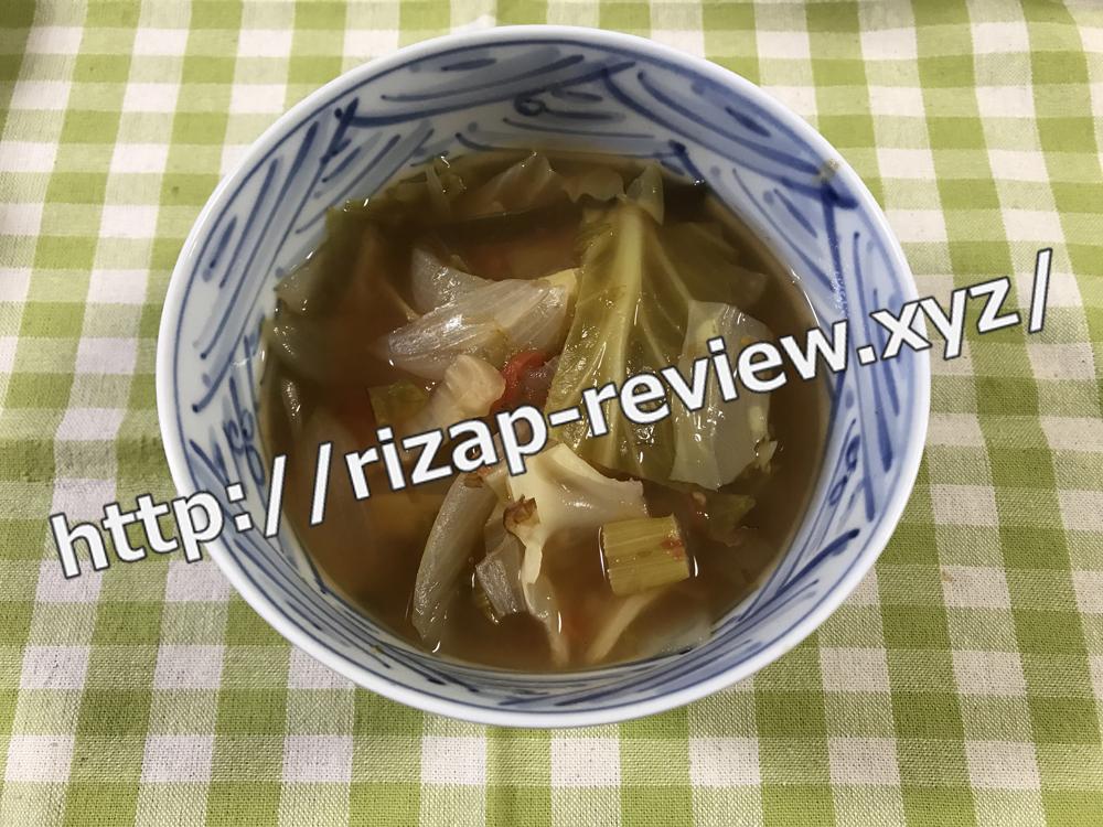 2018.11.9(金)ライザップ流の夕食
