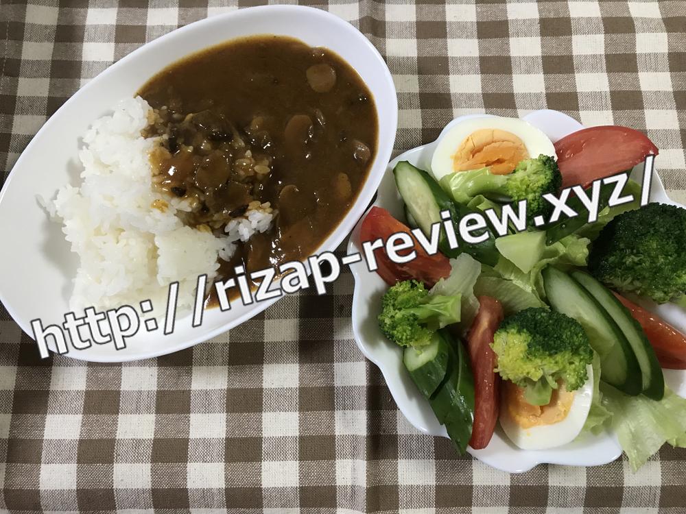 2018.11.24(土)ライザップ流の昼食