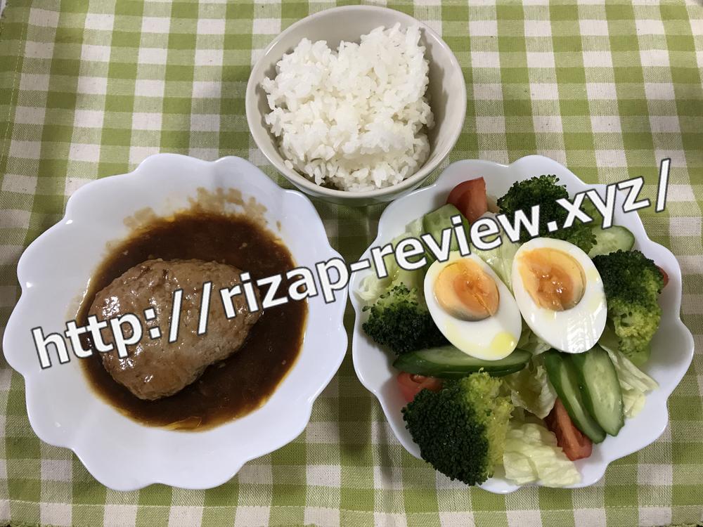 2018.12.4(火)ライザップ流の昼食