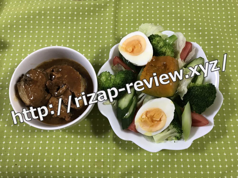 2018.12.6(木)ライザップ流の昼食