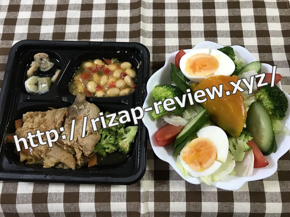 2018.12.7(金)ライザップ流の昼食