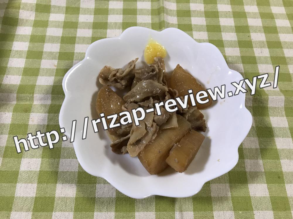 2018.12.9(日)ライザップ流の夕食
