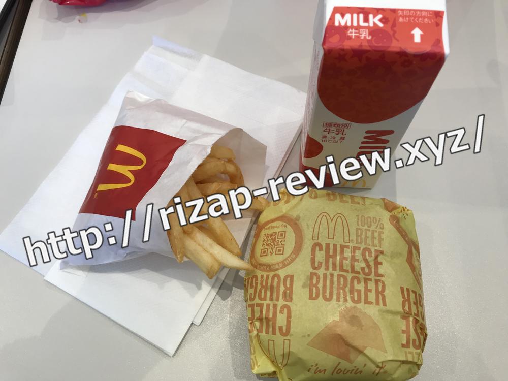 2018.12.24(月)ライザップ流の昼食