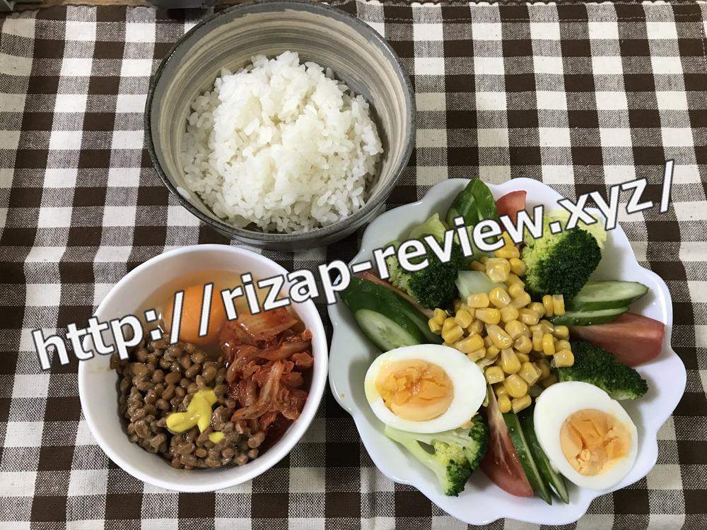 2019.1.7(月)ライザップ流の昼食