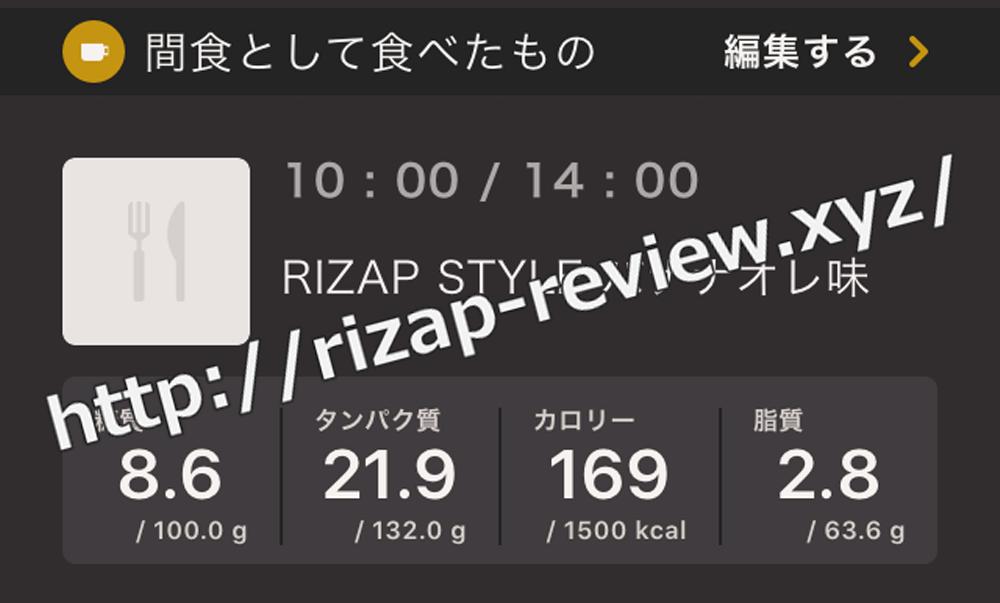 2019.1.7(月)ライザップ流の間食