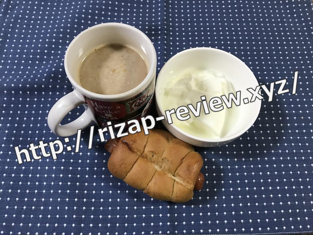 2019.1.16(水)ライザップ流の朝食