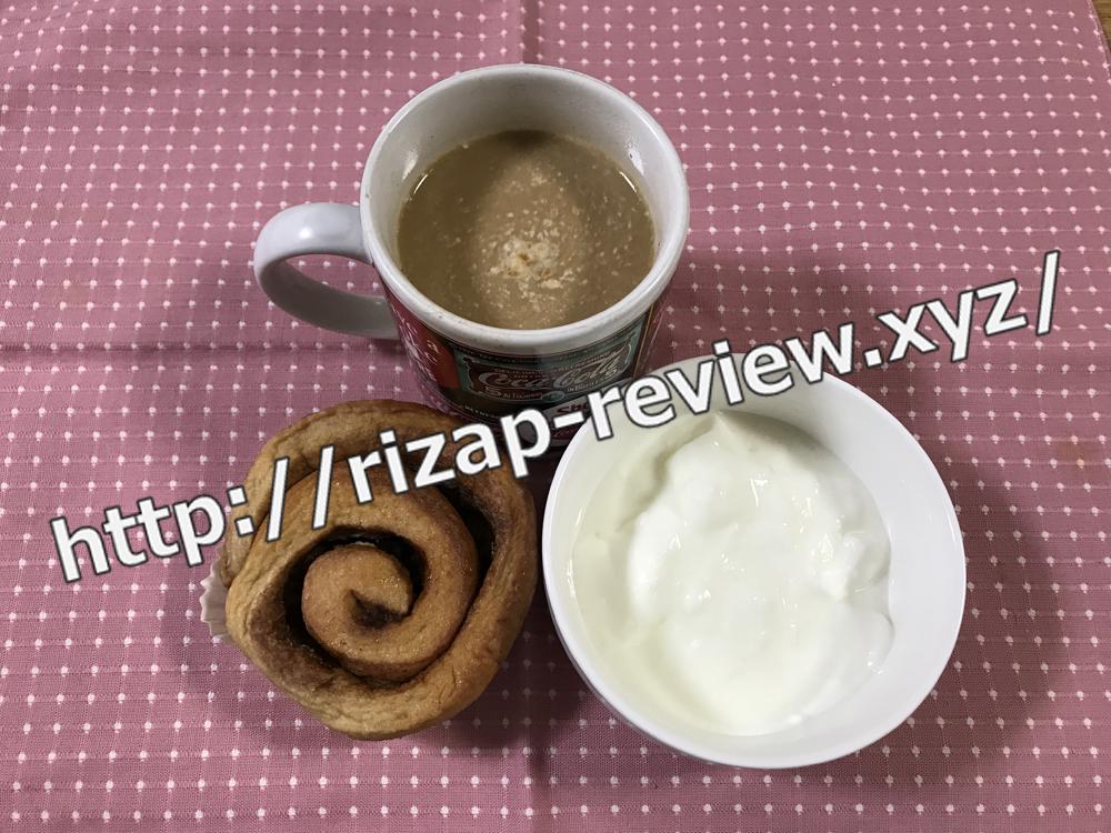 2019.1.20(日)ライザップ流の朝食